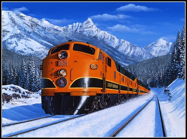 1000 Images About Great Northern Railway On Pinterest